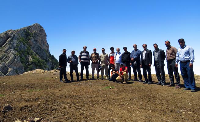 بازدید خبرنگاران از مناطق عشایری ریزسر و اوپرت