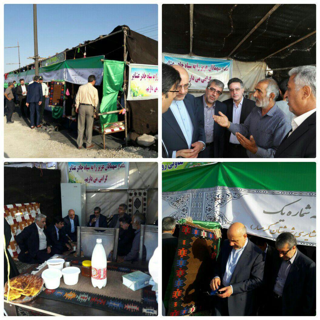 افتتاح پروژه های شهرستان گرمسار